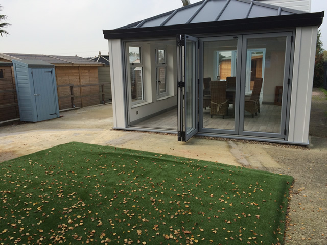 Easigrass Artificial Grass Installation at Showcentre