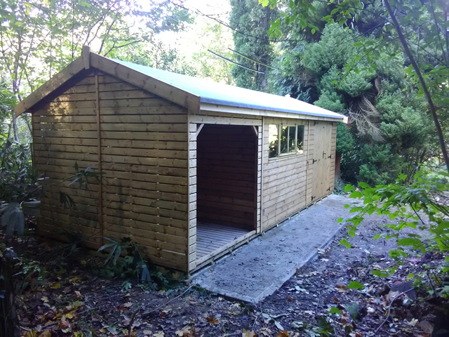 Bespoke Garden Building Installation in Billingshurst