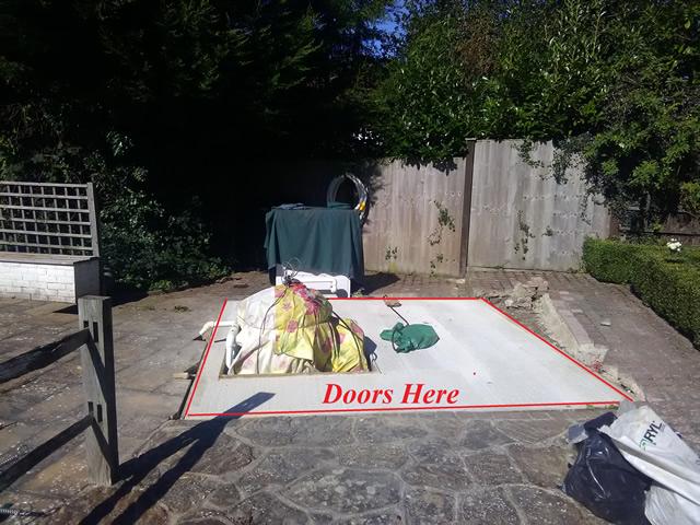 De Salis Door Position and Base Plan