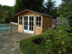 De Salis Southwater Summerhouse Finished