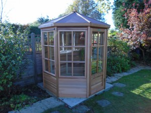 Mitchell Alton Cedar 6x6 Summerhouse Installation