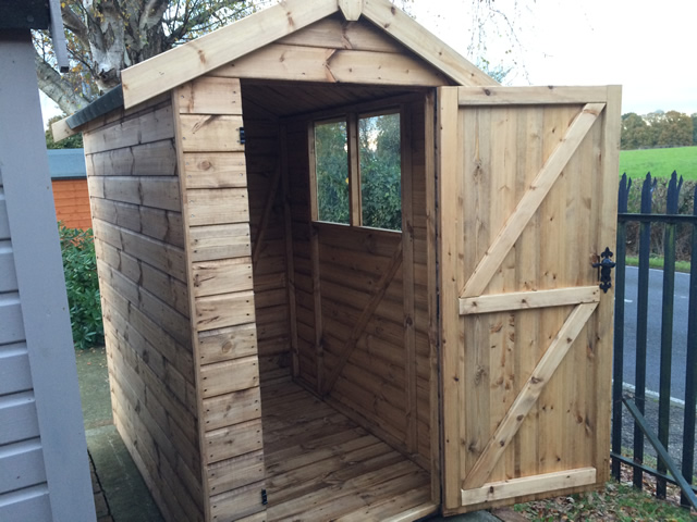 Regency Royston 6 x 4 Storage Shed