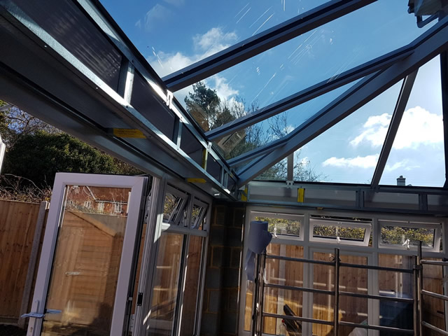 Sutton Livin Room Conservatory During Construction