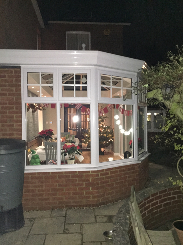 Birdseye - Completed conservatory external picture