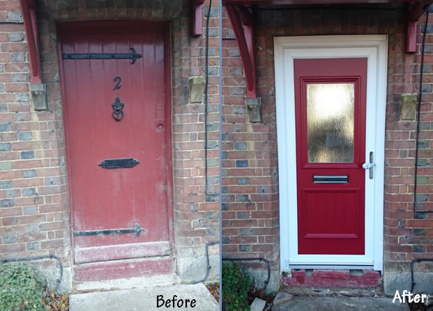 Lord Door Before & After