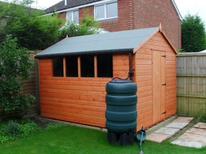 Pitt Shed Installation Horsham West Sussex