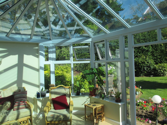 Arnold Parallel Victorian Conservatory Interior Sideview