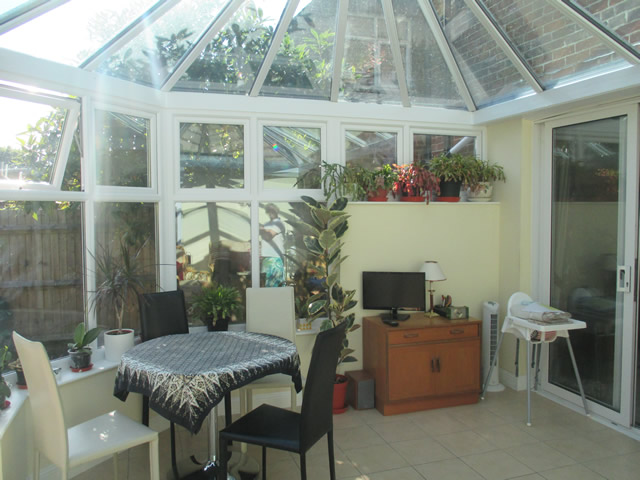 Arnold Parallel Victorian Conservatory Interior View to House
