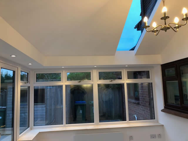 Bradshaw Livin Roof Conservatory Extension Interior