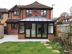 Bradshaw Livin Roof Conservatory Extension in Southwater