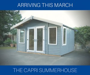 New Display Summerhouse - Capri Summerhouse