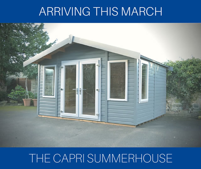 New Display Summerhouse - Capri Summerhouse