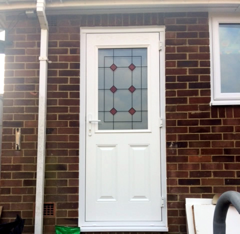 Peate Replacement PVCU Back Door Horsham