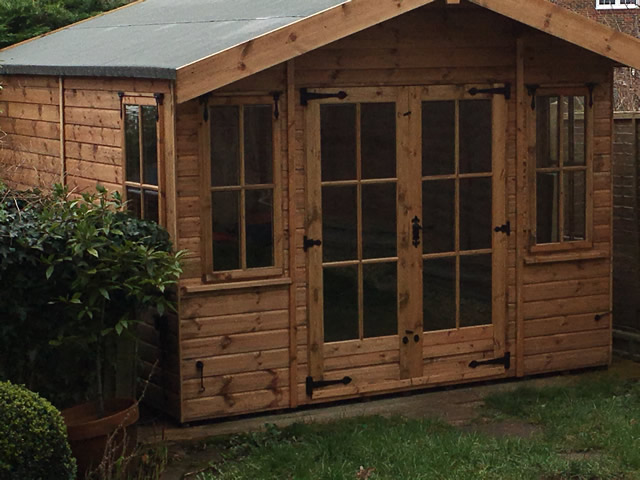 Taylor Regency Milan Summerhouse Installation