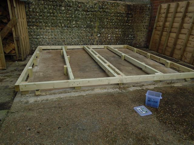 Timber Base onto Concrete