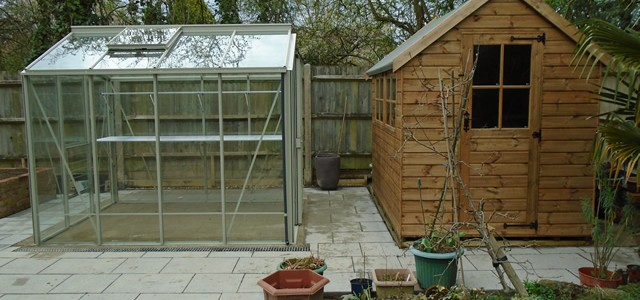 Gale Front Shed and Greenhouse