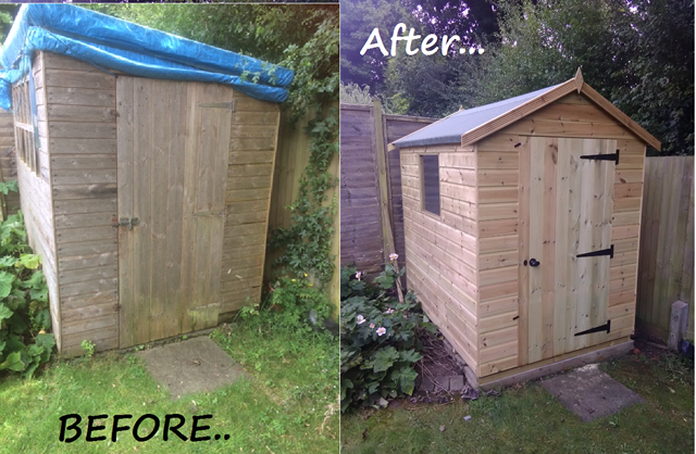 Before & After Bewdley Apex 7x5
