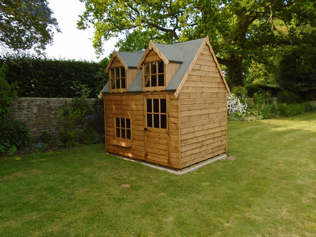 Regency 8x6 Playhouse Installation