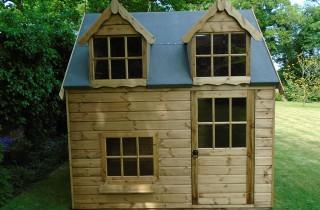 Regency Bluebell 8x6 Playhouse Closeup