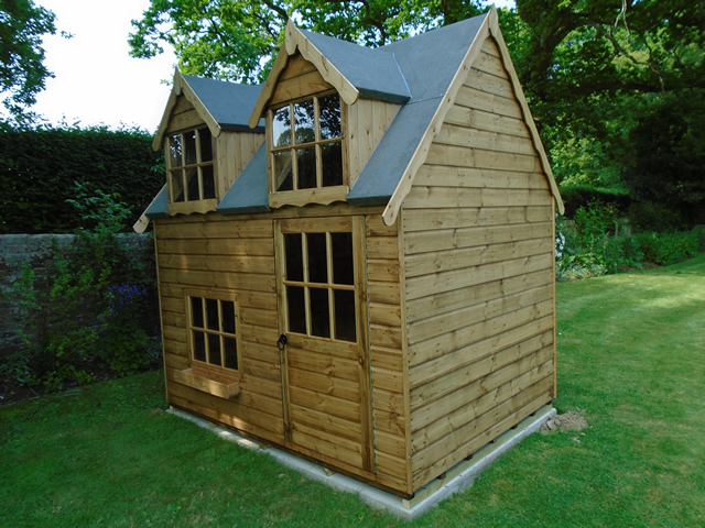 Regency Bluebell 8x6 Playhouse in Slinfold