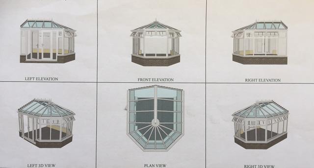 Kelsey Conservatory Design Illustration Pictures