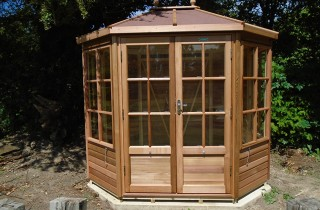 Davey Alton Chatsworth 6x8 Summerhouse Installation