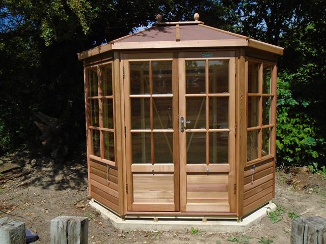 Davey Alton Chatsworth 6x8 Summerhouse Installation