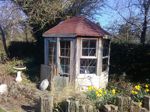 Davey Old Summerhouse we Removed in West Sussex