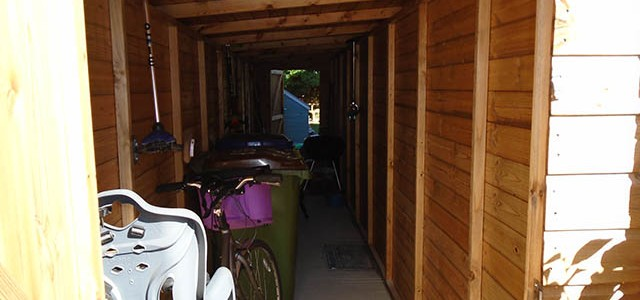Internal Shot of Shed