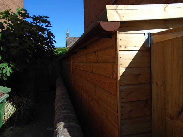 Side View inc Guttering