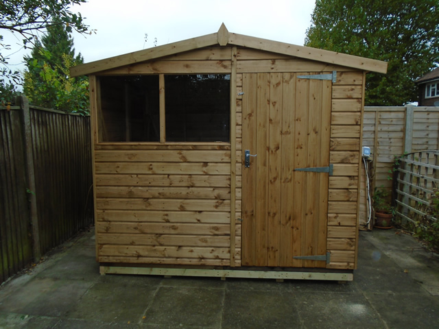Seales 8x6 Ultra Shed Installation Crawley