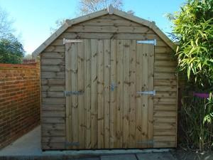 Thomas 10 x 8 Regency Barn Installation in Horsham West Sussex