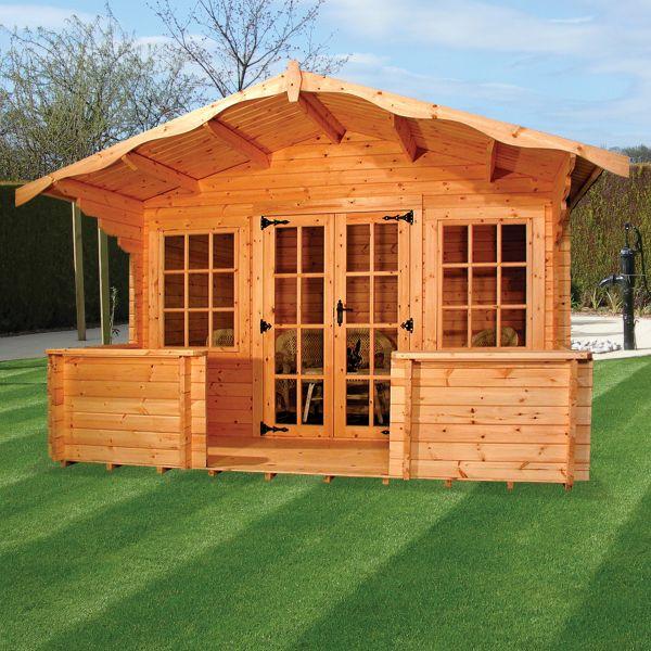Albany Charnwood D Log Cabin
