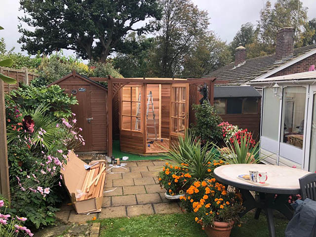 Smith Summerhouse Installation Horsham West Sussex