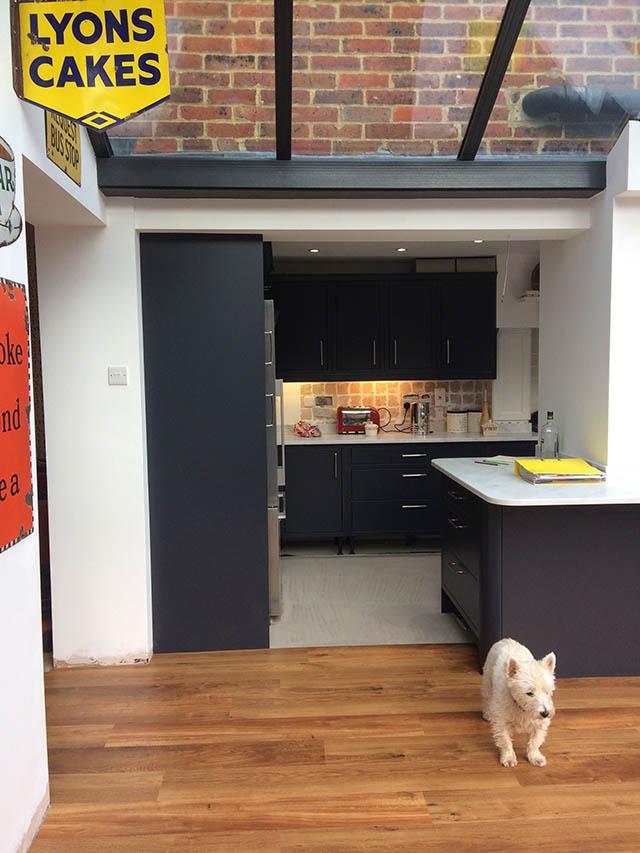 Fraser Internal View of Conservatory Kitchen