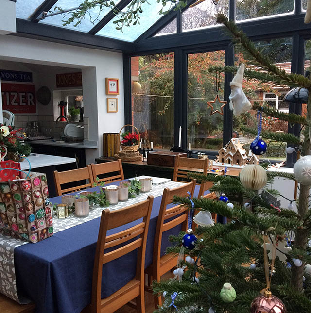 Fraser New Conservatory Interior at Christmas 2017 - 2