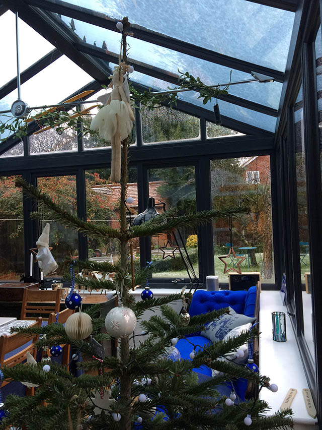 Fraser New Conservatory Interior at Christmas 2017