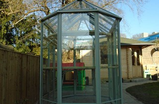 Popplestone Greenhouse Installation in Surrey