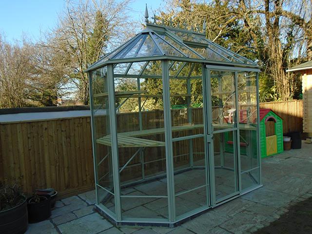 Popplestone Robins Renaissance Greenhouse