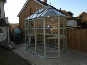 Popplestone Robinsons Pastel Sage Greenhouse