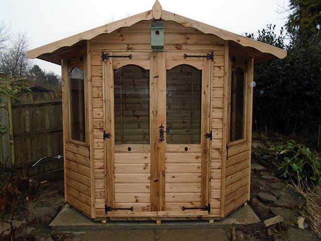 Regency Bowness 8x6 Summerhouse Installation
