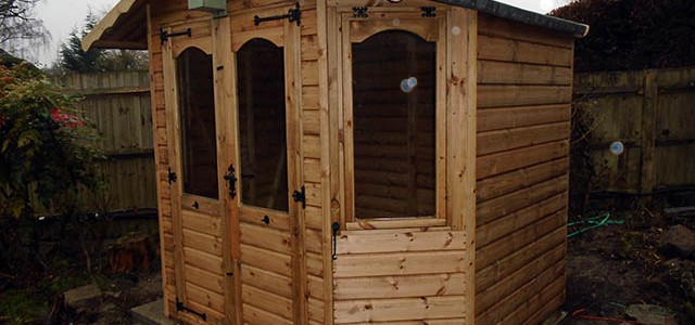 Replacement Summerhouse for a Customer in Horsham