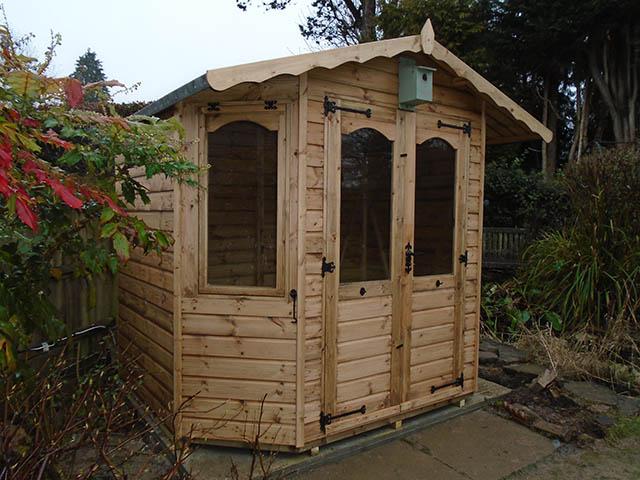 Summerhouse Installation in Horsham West Sussex
