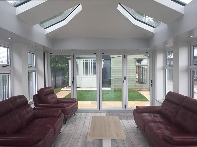 Loggia Conservatory with LivinRoof Interior
