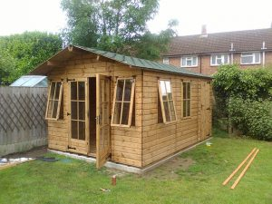Regency Milan Summerhouse Installation in Horsham