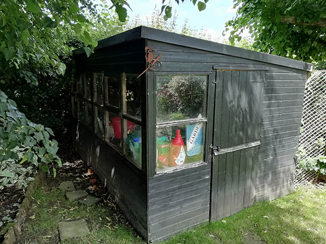 Old Potting Shed to Be Replaced
