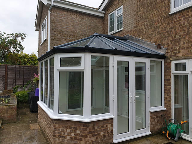 Skam Finished Conservatory from Patio