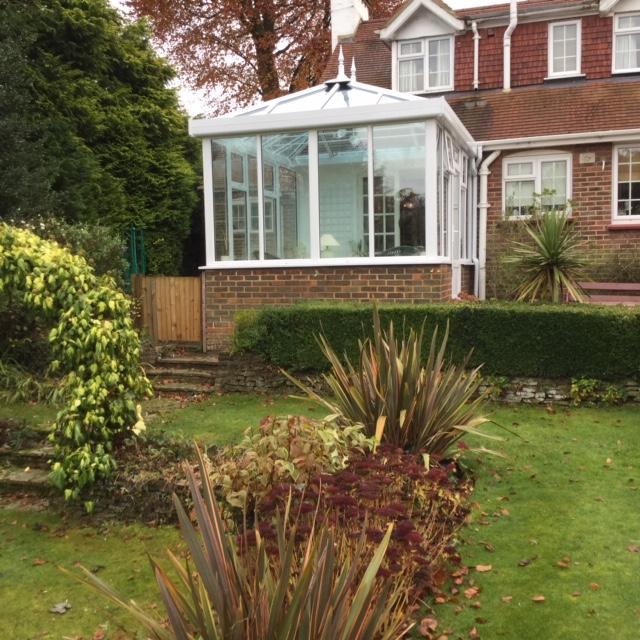 Completed Georgian Conservatory with Pilkington Activ Climate Guard Roof Glass - Squance