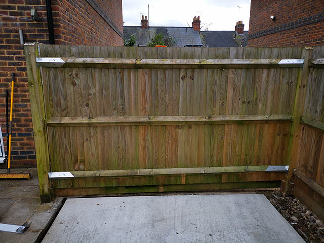 Fence Panel to Remove - Tanner