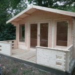 WOODLANDS LOG CABINS - CHOOSE FROM 2 OFFERS
